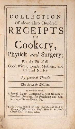 14: [Kettilby] A Collection...Receipts in Cookery