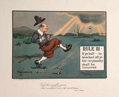 20: Crombie Rules of Golf Illustrated 1905