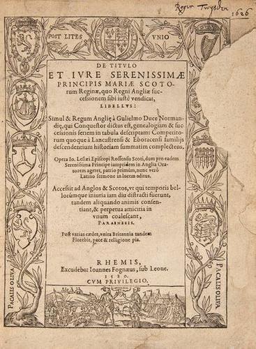 2: Leslie De Titulo et Iure Roger Twysden's copy