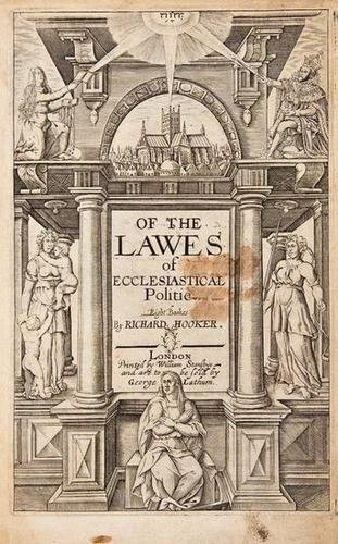 4: Hooker Of the Lawes 1639