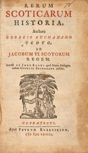 5: Buchanan Rerum Scoticarum Historia 1643