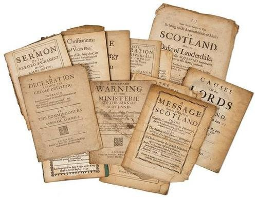 6: Pamphlets, 17th century.
