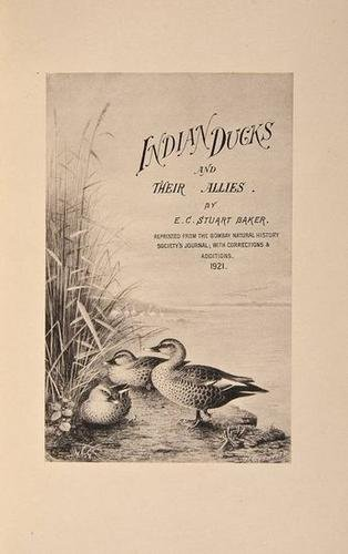 3: Baker.Game-Birds of India, Burma/Ceylon