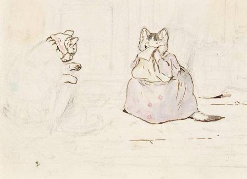 364: Potter (Beatrix) Tabitha Twitchit & Mrs Ribby