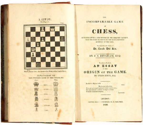 4: The Incomparable Game of Chess, First English Ed