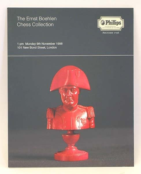 6: collection of chess auction catalogues