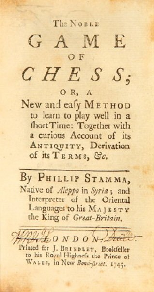 20: The Noble Game of Chess, 2 vol