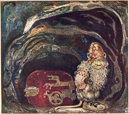 1012: Bland Tomtar och Troll: En Samling Sagor, 1914,