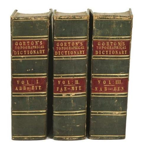 414: Gorton & Wright. A Topographical Dictionary