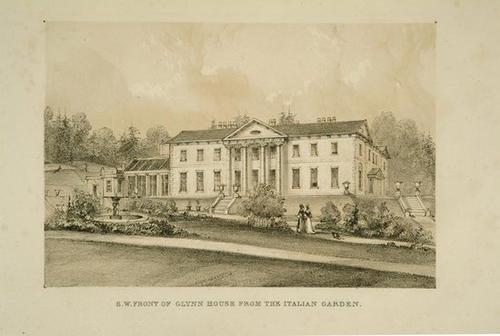 425: Cockburn (Col.) Views of Glynn House near Bodmin