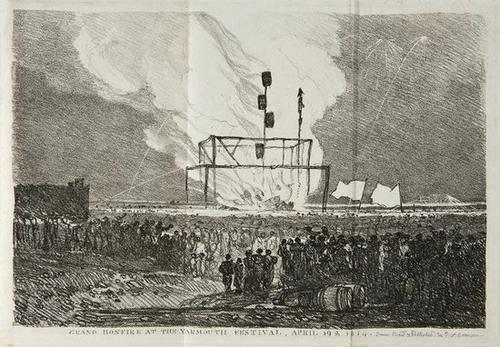 430: Yarmouth.- Grand Festival 1814