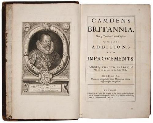 1: Camden (William) Britannia,1695