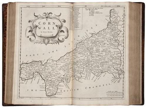 2: Camden (William) Britannia,2v,1722