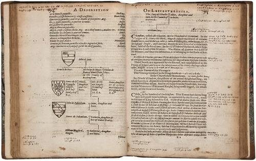 13: Burton.Description of Leicestershire,1622