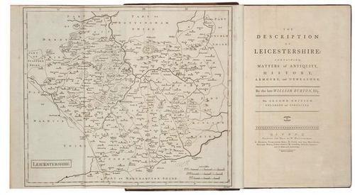 14: Burton.Description of Leicestershire,1722