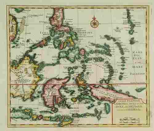 301: Tirion (Isaak). Nuova, et Accurata Carta dell' Iso
