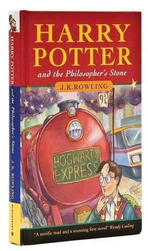 320: Rowling. Harry Potter Philosopher's Stone