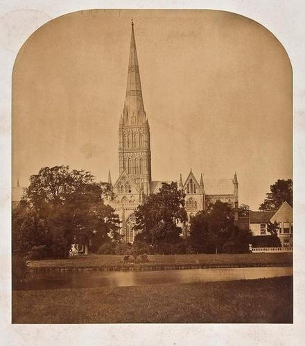 3: Roger Fenton (1819 -1869) Salisbury Cathedral with