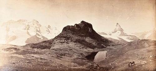 7: Adolphe Braun (1811 - 1877) Panoramic Alpine Views