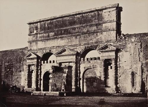 17: Tommaso Cuccioni ( d.1864) Porta Maggiore, Rome, c
