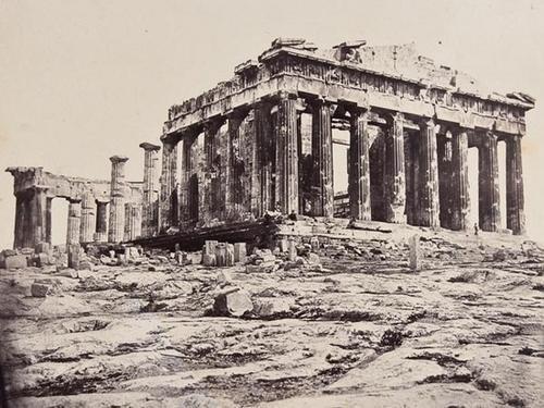 22: James Robertson (c.1813 - 1888) Four views of Gree