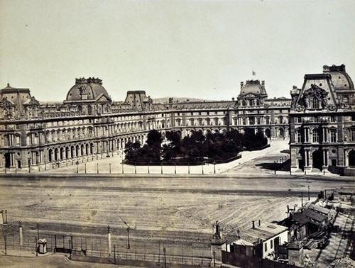 28: Edouard- Denis Baldus (1813-1889) Vues de Paris en