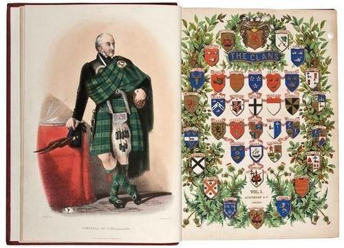10: Logan Clans of the Scottish Highlands 1845