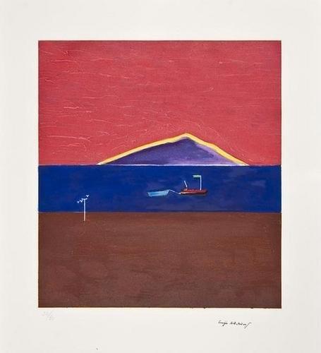 3: Craigie Aitchison (1926-2009) Holy Island