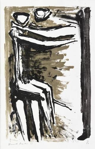 4: Kenneth Armitage (1916-2002) Seated Figures