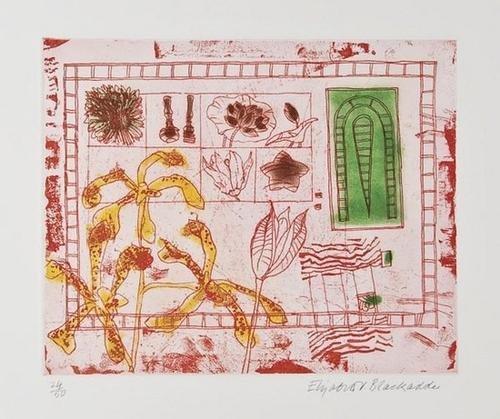 9: Elizabeth Violet Blackadder (b.1931) Red Still Lif