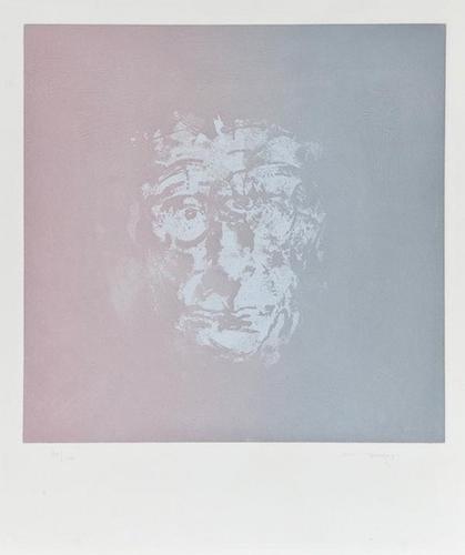 10: Louis le Brocquy (b.1916) Image of Samuel Beckett