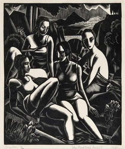 12: John Buckland- Wright (1897-1954) Composition