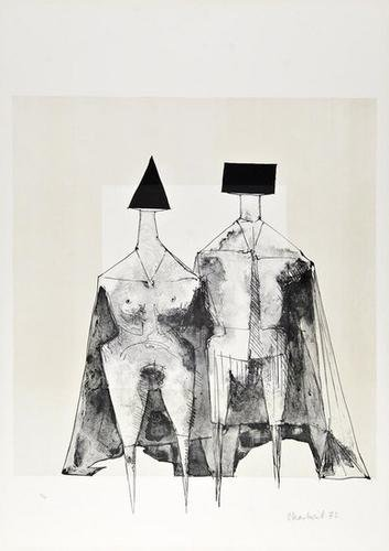 16: Lynn Chadwick (1914-2003) Two Standing Figures