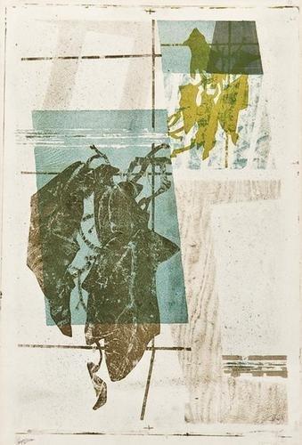 23: Prunella Clough (1919-1999) Plant in Greenhouse