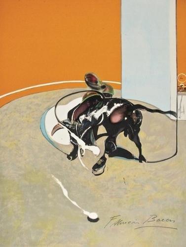 197: Francis Bacon (1909-1992) Miroir de la tauromachie