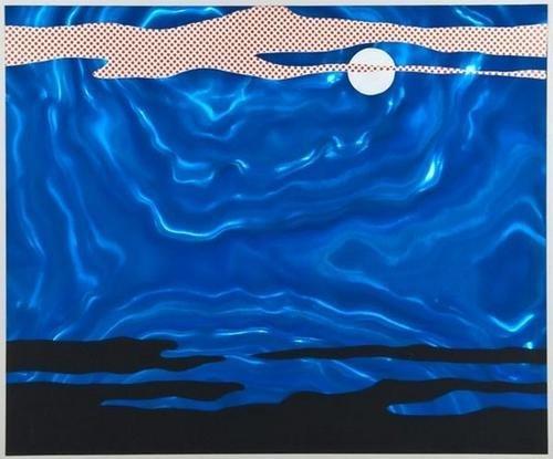 325: Roy Lichtenstein (1923-1997) Moonscape (C.37)