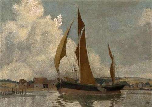 2:  Maxwell Armfield (1882-1940)   Sailing