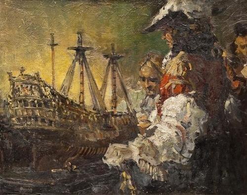 6: Attributed to Edgar Bundy (1862-1922) The mod