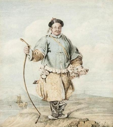 25: William Alexander (1767-1816) A Chinese bowma