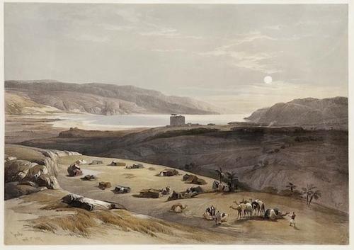 159:  David Roberts (1796-1864)    Ancie