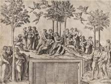 326 A mixed group of Old Master prints By or afte