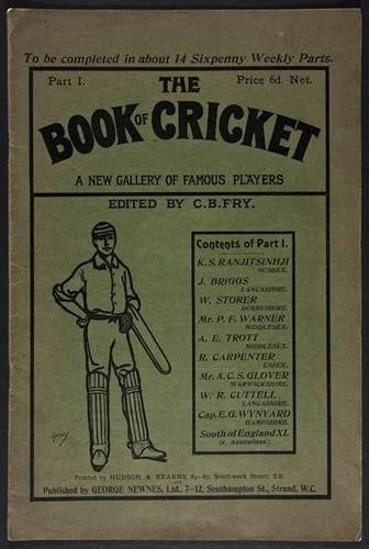 7: Fry, (C.B., edit.) The Book of Cricket. A New Gall