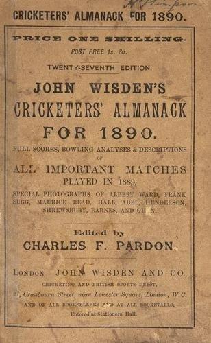 22: Wisden (John) Cricketers' Almanack