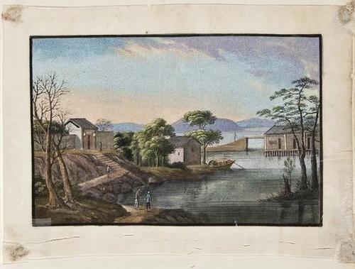 118: An album of Chinese ricepaper paintings