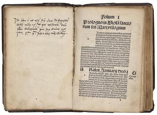 18: Martyrilogium seu Viola Sanctorum