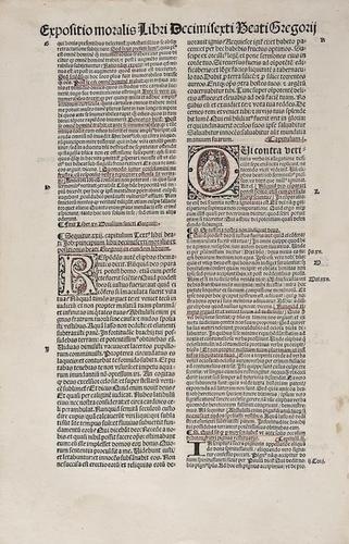 24: Gregory I (Pope) [Opera] In Hoc Volumine Contenta.