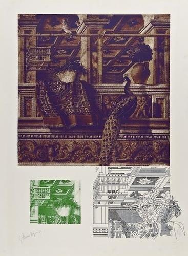5: DDS Gillian Ayres (b.1930), Crivelli�s Room I an