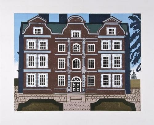 14: Edward Bawden (1903-1989), Kew Palace, lithograph