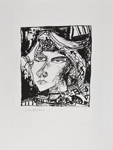 16: DDS John Bellany (b.1942), Untitled, two lithograp