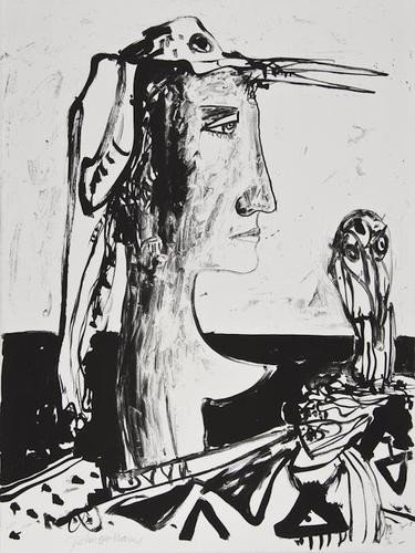 17: DDS John Bellany (b.1942), Untitled, two lithograp